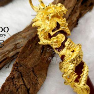999 Pure Gold Pendants