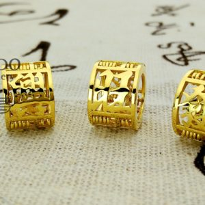 916 Gold Charms
